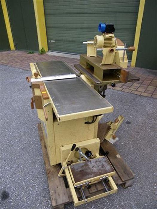 gebrauchte maschinen hobelmaschine mit fr se scheppach. Black Bedroom Furniture Sets. Home Design Ideas